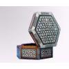 Marqueterie Hexagonale 6 Cotés