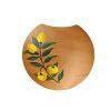 Solde : Applique Murale Porte Fleurs Séchées Décor Citron
