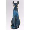 Chat Égyptien : Statuette De La Déesse Bastet En Bleu