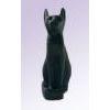Chat Égyptien : Statuette De La Déesse Bastet En Noir