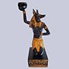 Statuette Du Dieu Anubis