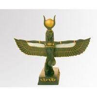 Statuette De La Déesse Isis-Hathor Ailée - 21Ko