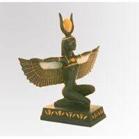 Statuette De La Déesse Isis-Hathor Ailée - 22Ko