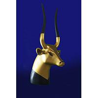 Tête De La Vache Sacrée Hathor - 27Ko