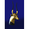 Tête De La Vache Sacrée Hathor