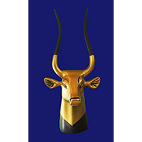 Tête De La Vache Sacrée Hathor - 20Ko