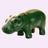 Hippopotame  Vert