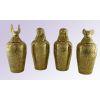 4 Vases Canopes En Cuivre
