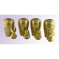 4 Vases Canopes En Cuivre - 20Ko