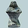 Statue Cube  En Steatite