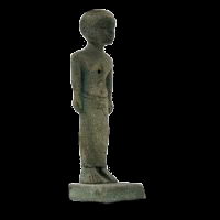 Statuette Homme Debout Style Antique - 14Ko