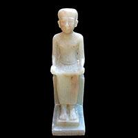 Statue Du Dieu Imhotep