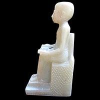 Statue Du Dieu Imhotep - 23Ko