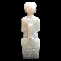 Statue Du Dieu Imhotep - 28Ko