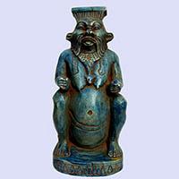 Statue Du Dieu Bés - 31Ko