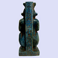Statue Du Dieu Bés - 28Ko