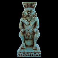 Statue Du Dieu Bés - 35Ko