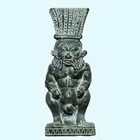 Statue Du Dieu Bés - 25Ko