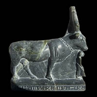 Statue De La Vache Sacree Hathor - 35Ko