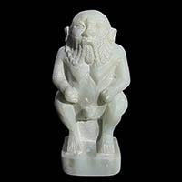 Statue Du Dieu Bes En Stéatite - 28Ko
