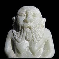 Statue Du Dieu Bes En Stéatite - 35Ko