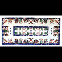 Nappe Rectangulaire Pharaonique - 46 Ko