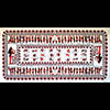 Nappe Rectangulaire Pharaonique «Zodiaque De Dendera»
