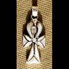 Bijoux Pharaonique Croix Ankh Avec Incrustation Nacre