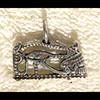 Bijoux Pendentif Oeil D'Horus (Oudjat) En Argent