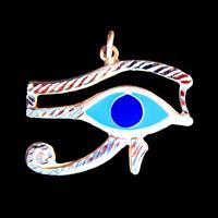 Bijoux Oeil D'Horus En Argent - 32Ko