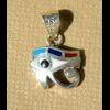 Bijoux Boucles D'oreille Oeil D'Horus (Oudjat) En Argent