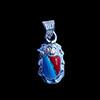 Bijoux Scarabée En Argent Avec Incrustation Turquoise Et Cornaline