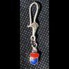 Bijoux Boucles D'oreille Scarabée En Argent Avec Incrustation Lapis-Lazuli Et Cornaline