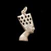 Bijoux Profil De Néfertiti En Argent