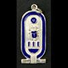 Bijoux Cartouche De Toutankhamon En Argent