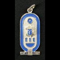 Bijoux Pharaonique Cartouche De Toutankhamon En Argent - 11Ko