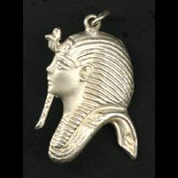 Bijoux Pharaonique Profil Masque De Toutankhamon En Argent - 13Ko