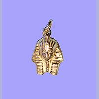 Bijoux Pharaonique Masque D'or De Toutankhamon En Argent - 29Ko