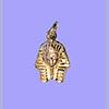 Bijoux Masque D'or De Toutankhamon En Argent