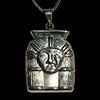Bijoux Tête D'Hathor En Argent