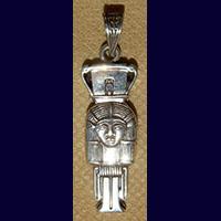 Bijoux Pilier Hathorique En Argent - 34Ko
