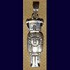 Bijoux Pilier Hathorique En Argent