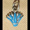 Bijoux Lotus Argent Avec Incrustation Turquoise