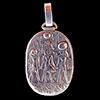 Bijoux Stele De Bapteme De Pharaon En Argent