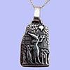 Bijoux Stèle D'adoration De Aton Par Akhenaton Et Sa Famille En Argent