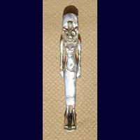 Bijoux Pharaonique :  Déesse Sekhmet En Argent 800/1000 - 33Ko