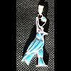 Bijoux AmuletteHorus D'Edfou En Argent