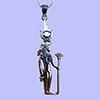 Bijoux AmuletteIsis-Hathor En Argent