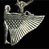Bijoux Déesse Isis Ailée En Argent