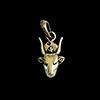 Bijoux Déesse Vache Hathor En Argent